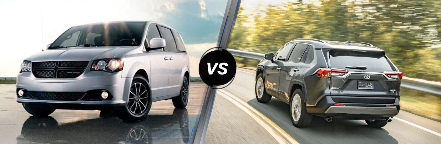 2019 Dodge Grand Caravan vs 2019 Toyota RAV4