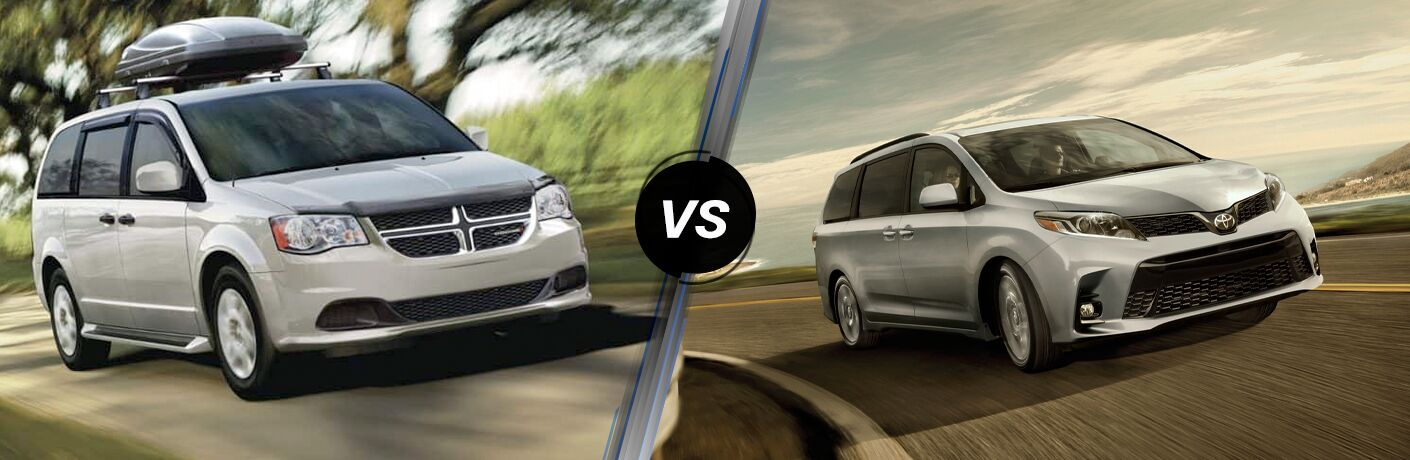 2019 Dodge Grand Caravan vs 2019 Toyota Sienna