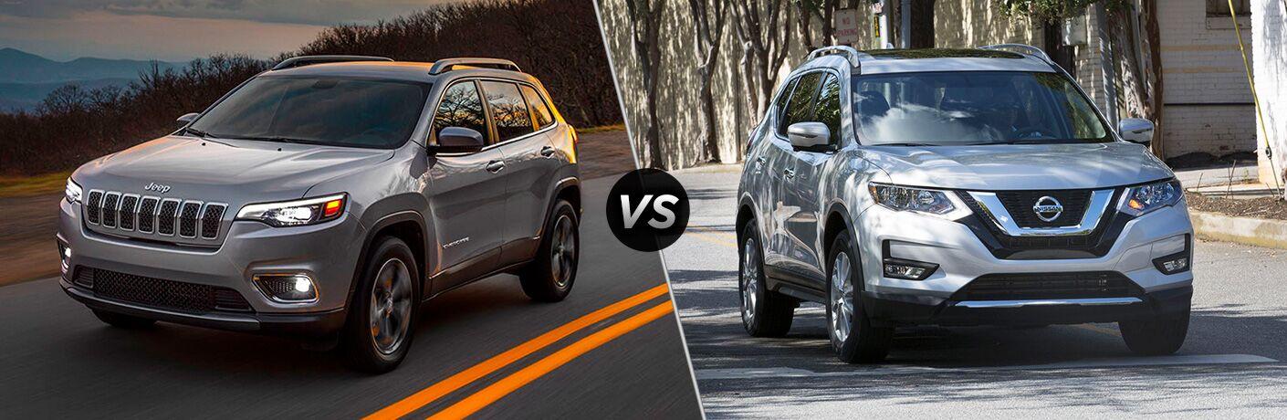 2019 Jeep Cherokee vs 2018 Nissan Rogue