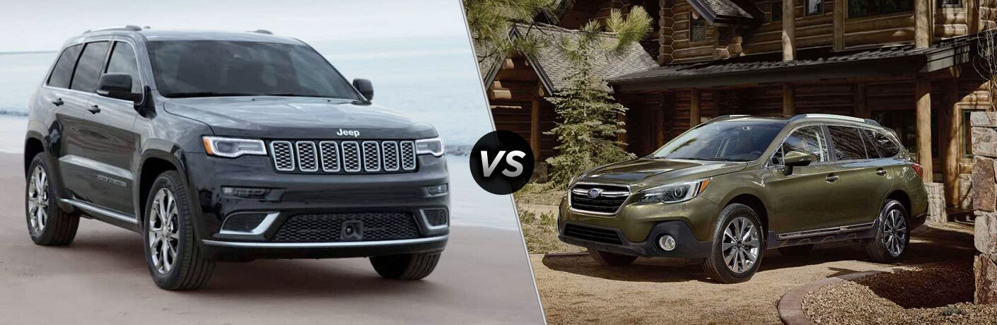 2019 Jeep Grand Cherokee vs 2019 Subaru Outback