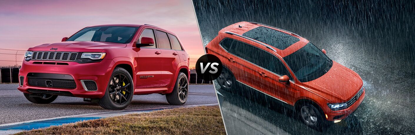 2019 Jeep Grand Cherokee vs 2019 Volkswagen Tiguan
