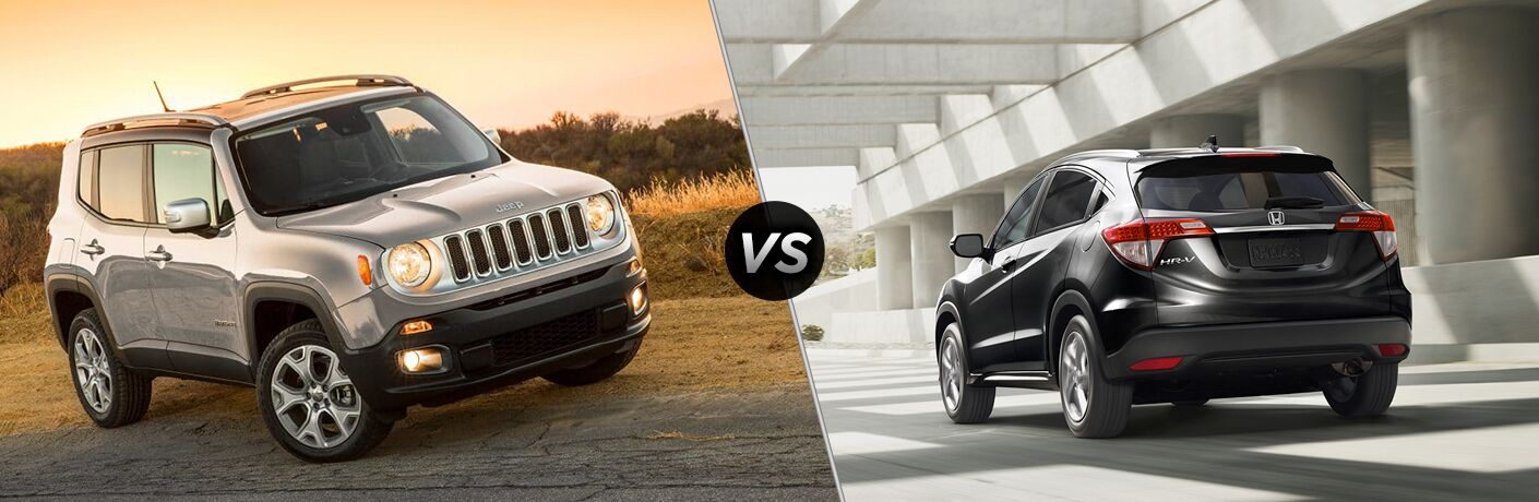 2019 Jeep Renegade vs 2019 Honda HR-V