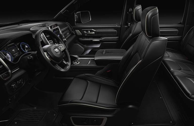 2019 ram leather seating