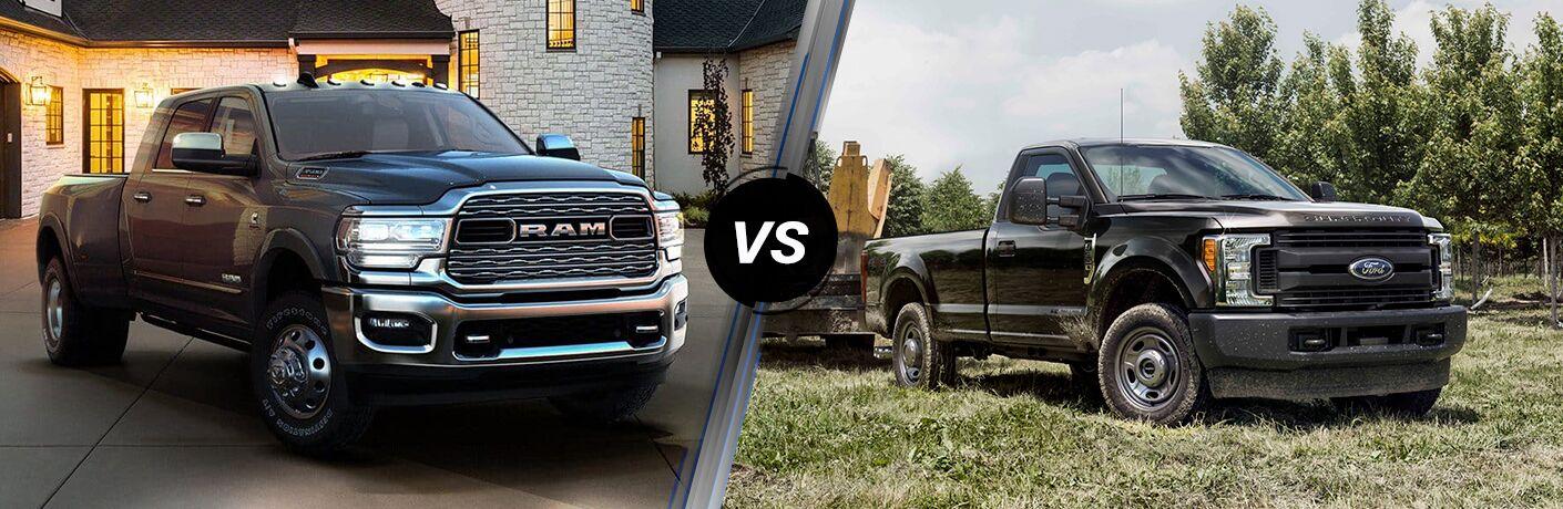 2019 Ram 3500 vs 2019 Ford F-350