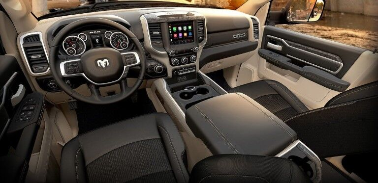 dashboard of 2019 Ram 5500 Chassis