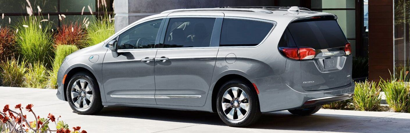 2020 Dodge Grand Caravan exterior gray parked in driveway
