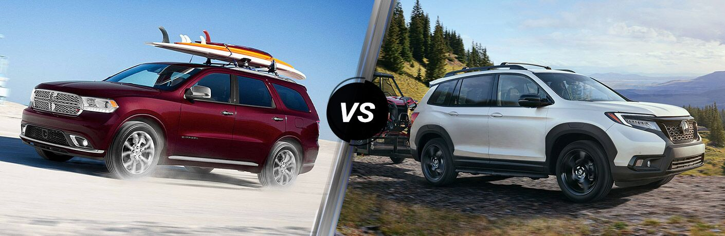 2020 Dodge Durango vs 2020 Honda Passport