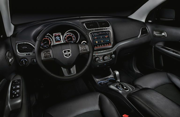 2020 Dodge Journey interior cabin and simulated windows