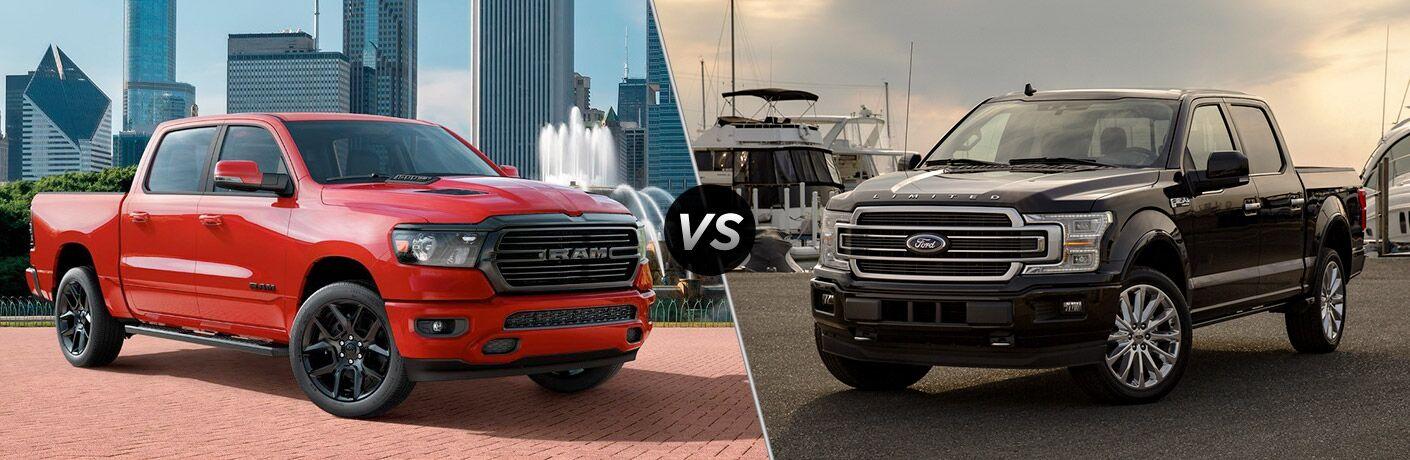 2020 Ram 1500 vs 2020 Ford F-150