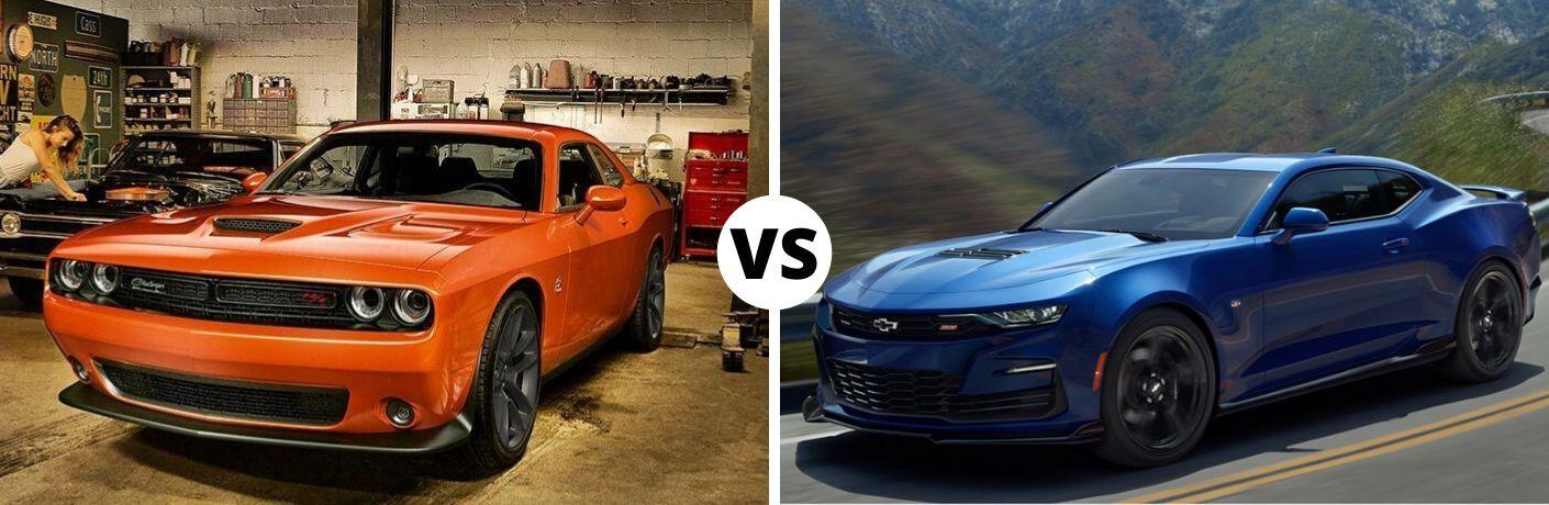 2020 Dodge Challenger vs 2020 Chevrolet Camaro