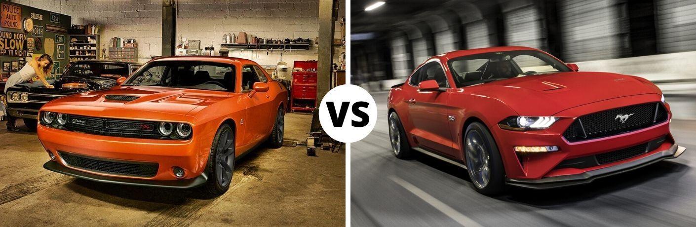 2020 Dodge Challenger vs 2020 Ford Mustang