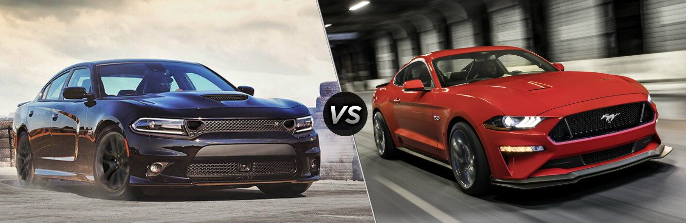 2020 Dodge Charger vs 2020 Ford Mustang