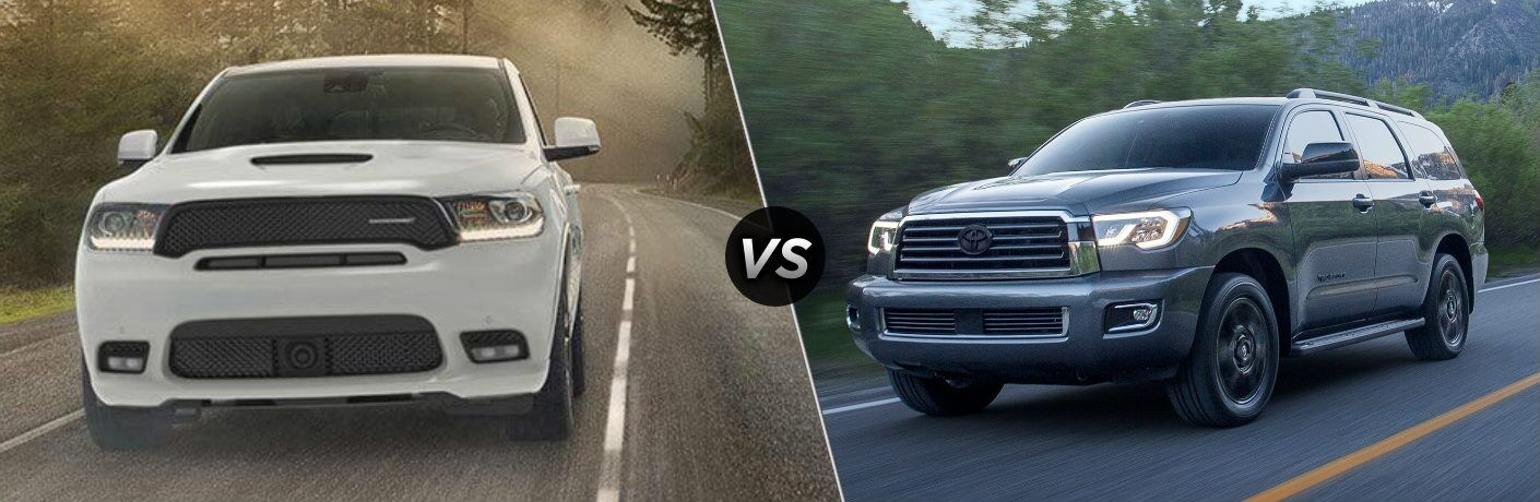 2020 Dodge Durango vs 2020 Toyota Sequoia