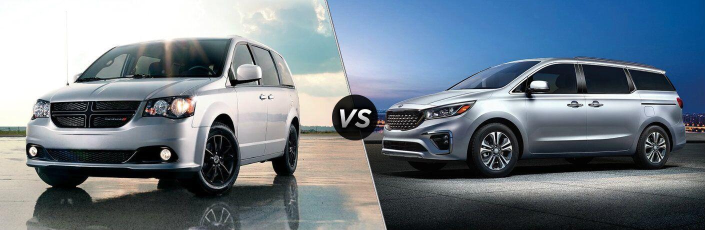 2020 Dodge Grand Caravan vs 2020 Kia Sedona