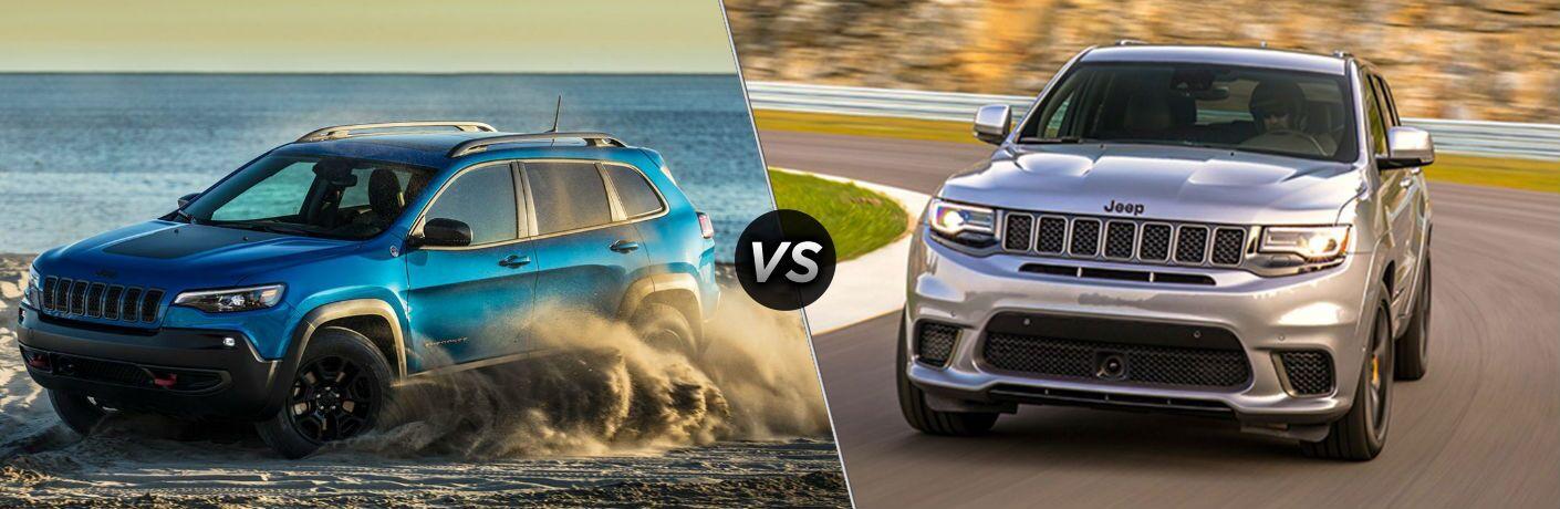 2020 Jeep Cherokee vs 2020 Jeep Grand Cherokee comparison image