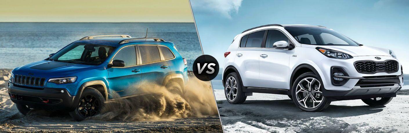 2020 Jeep Cherokee vs 2020 Kia Sportage