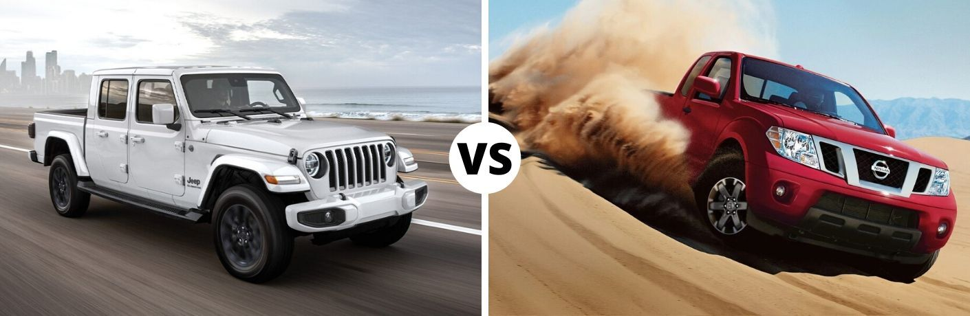 2020 Jeep Gladiator vs 2019 Nissan Frontier