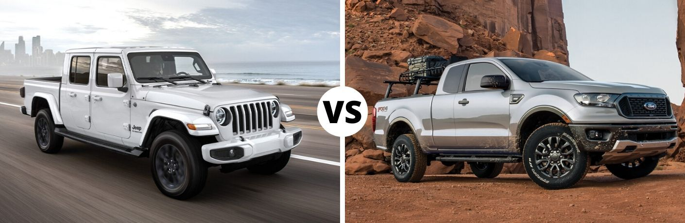 2020 Jeep Gladiator vs 2020 Ford Ranger
