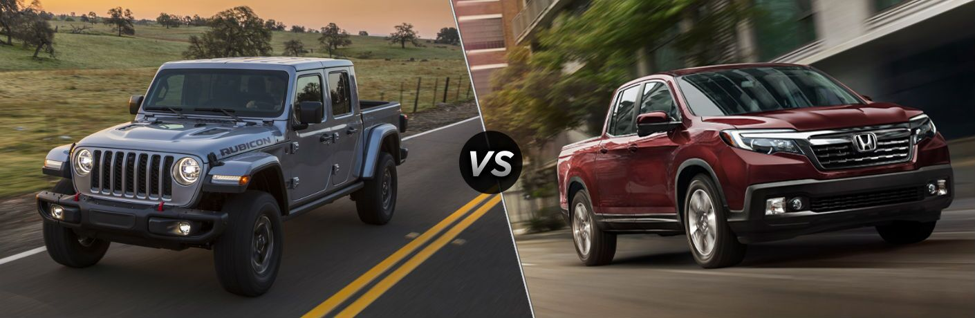 2020 Jeep Gladiator vs 2020 Honda Ridgeline