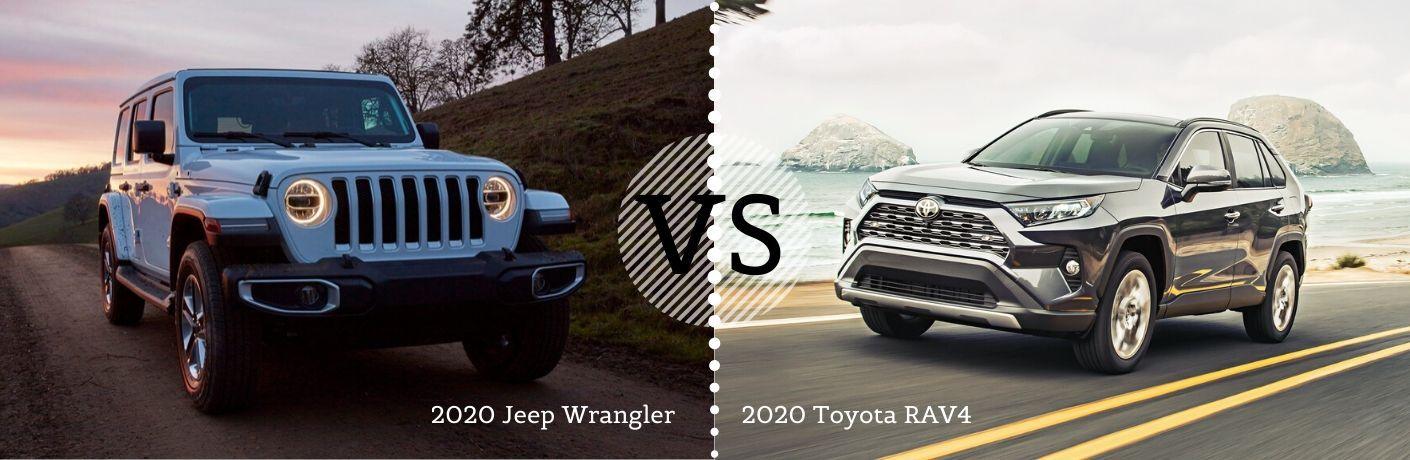 2020 Jeep Wrangler vs 2020 Toyota RAV4