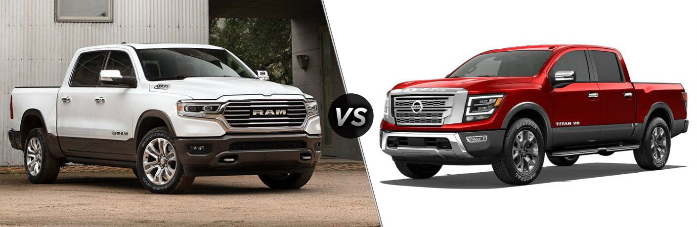 2020 Ram 1500 vs 2020 Nissan Titan