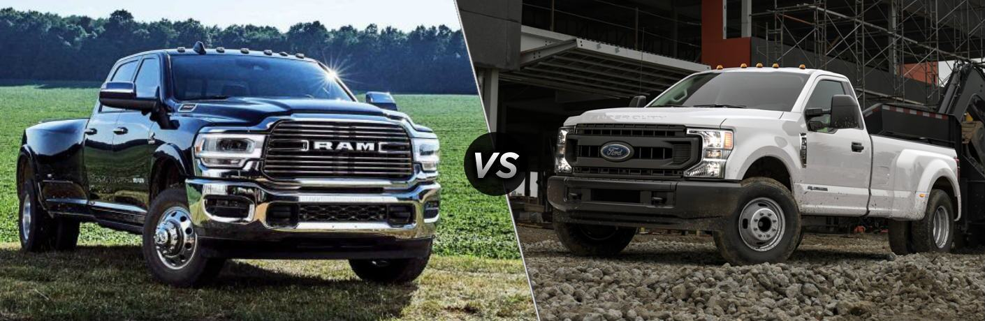 2020 Ram 3500 vs 2020 Ford F-350