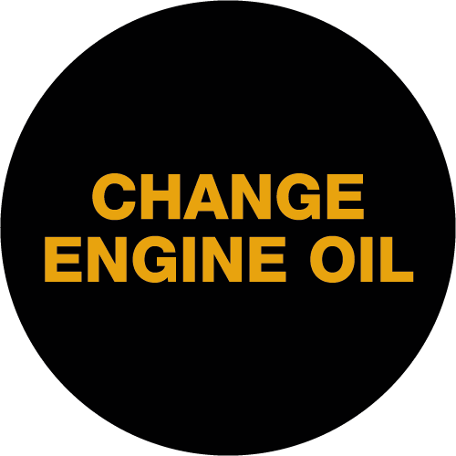Oil Change Required Light