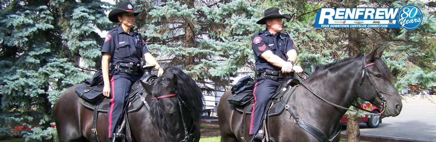 Vehicle discounts and incentives for Calgary Police Officers at Renfrew Chrysler