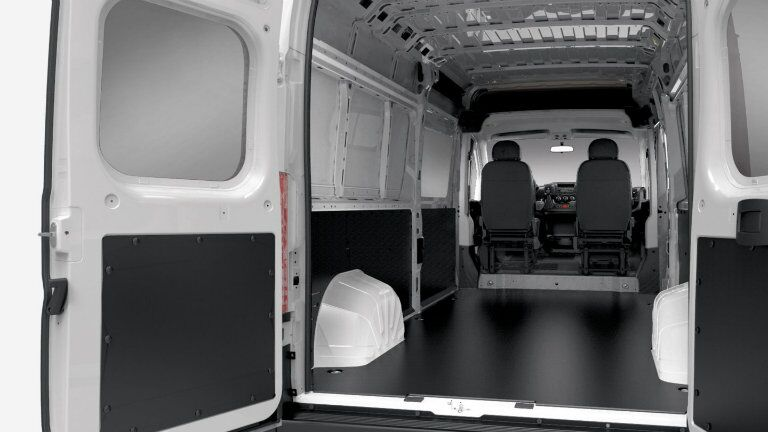 Inside of the 2010 Ram ProMaster