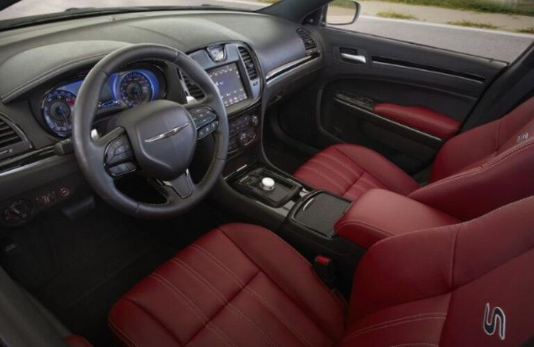front seats of 2020 Chrysler 300