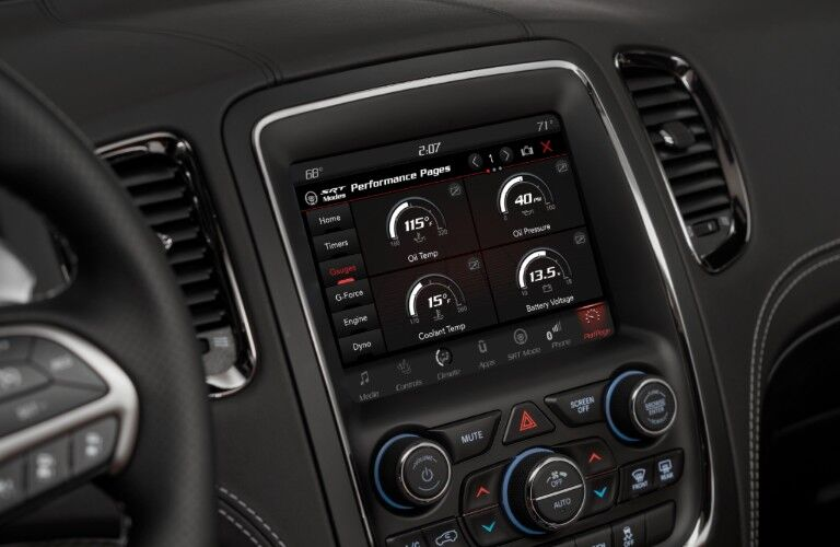 touchscreen in 2020 Dodge Durango