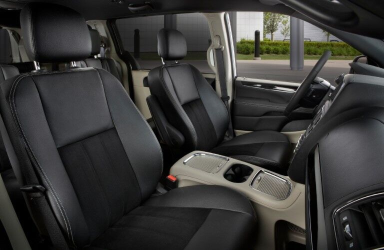 front seats of 2020 Dodge Grand Caravan