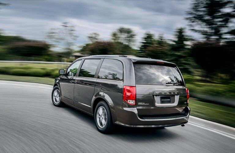 rear of 2020 Dodge Grand Caravan