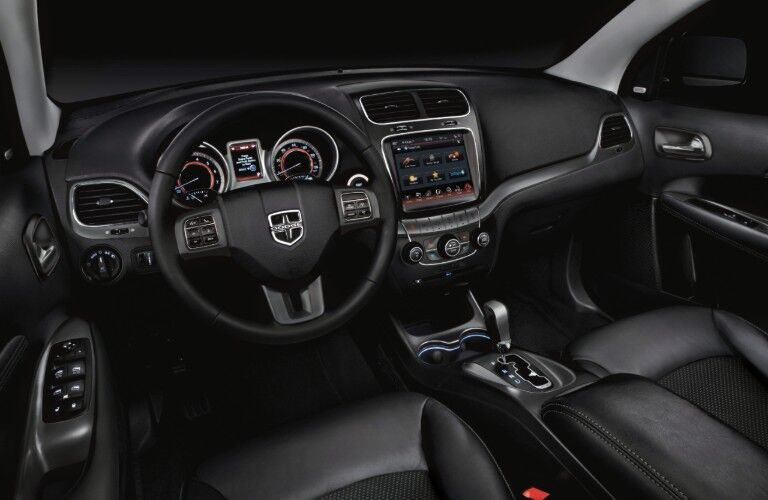 interior of 2020 Dodge Journey