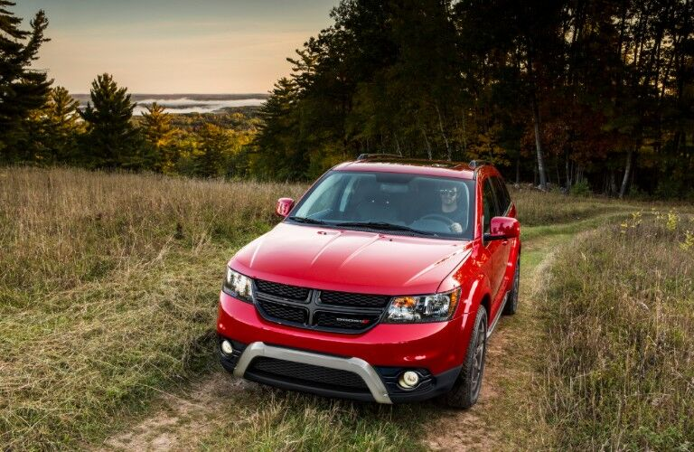 front red of 2020 Dodge Journey