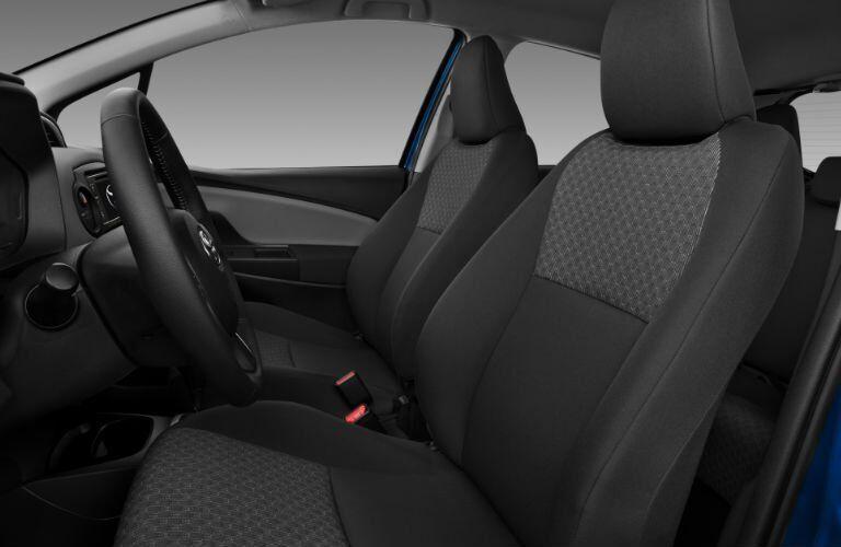 2017 Toyota Yaris iA Black Cloth Interior