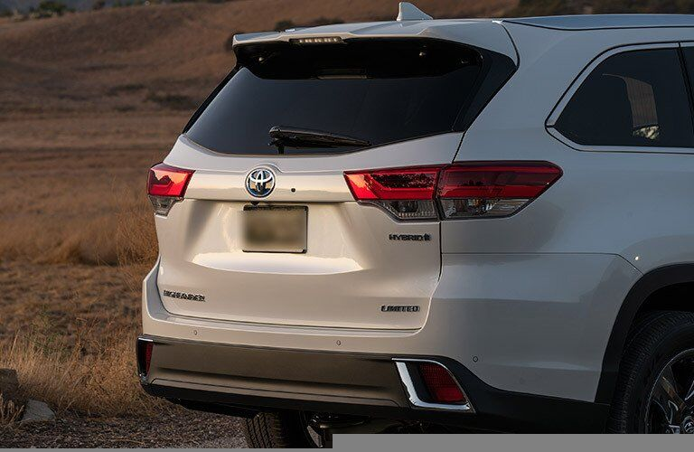 2017 Toyota Highlander Hybrid Cargo Space Measurements