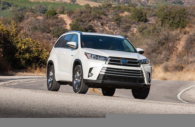 2017 Toyota Highlander Hybrid Grille Designs