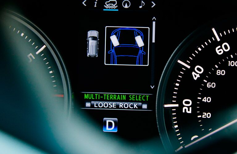 2017 Toyota Land Cruiser Driver Information Center