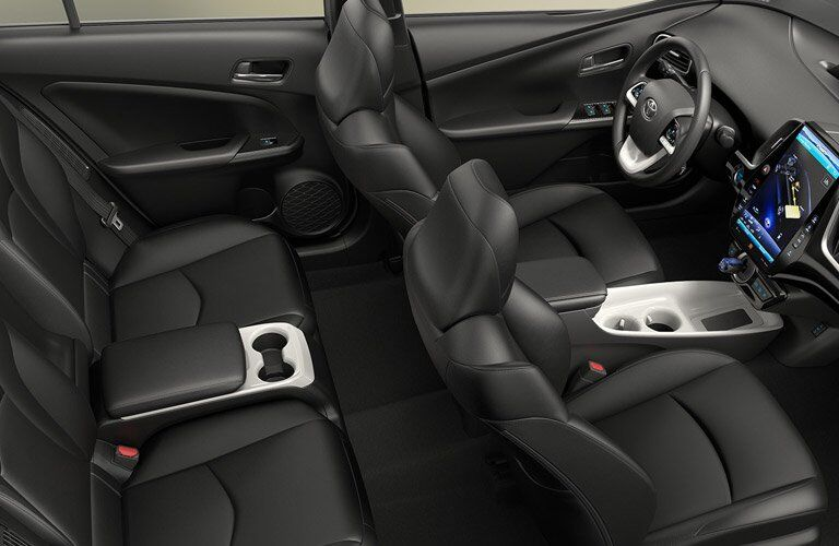 2017 Toyota Prius Black Seating Trim