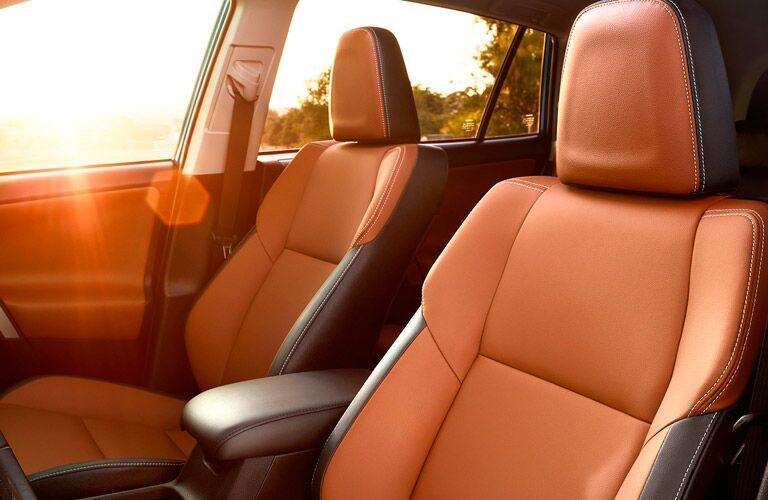2017 Toyota RAV4 Two Tone Leather Seats
