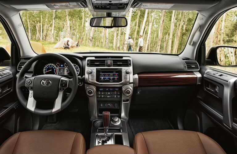 2017 Toyota 4Runner Wood Grain Interior Trim