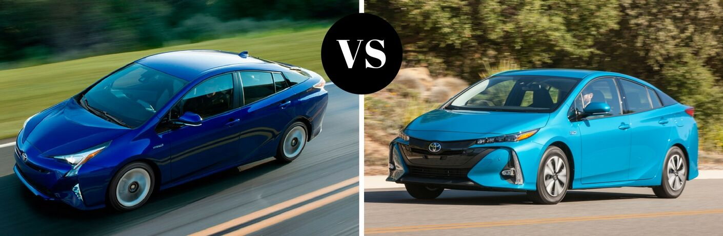 2017 Toyota Prius vs 2017 Prius Prime