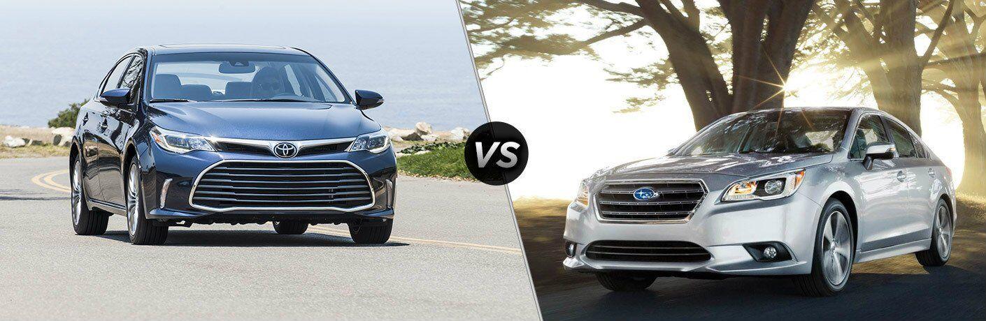 2017 Toyota Avalon vs 2017 Subaru Impreza
