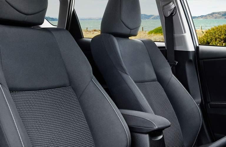 2018 Toyota Corolla iM interior seat view.
