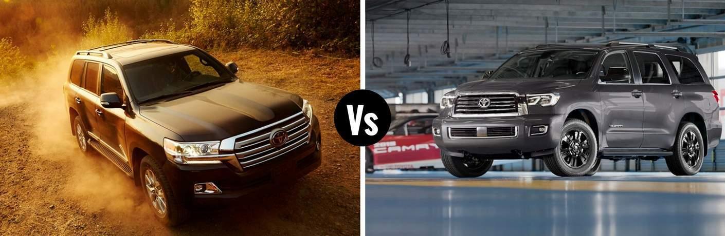2018 Toyota Land Cruiser vs 2018 Toyota Sequoia
