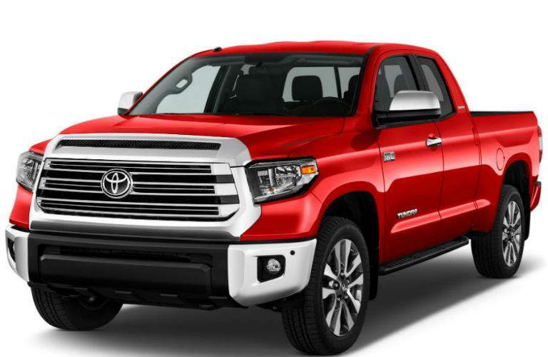 2018 Toyota Tundra Lexington, Ma exterior shot front grille and fascia limited_o