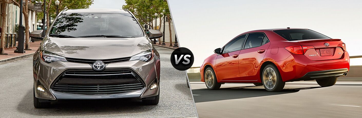 2019 Toyota Corolla vs 2018 Toyota Corolla