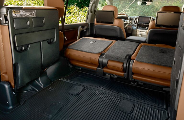 cargo space of 2019 Toyota Land Cruiser