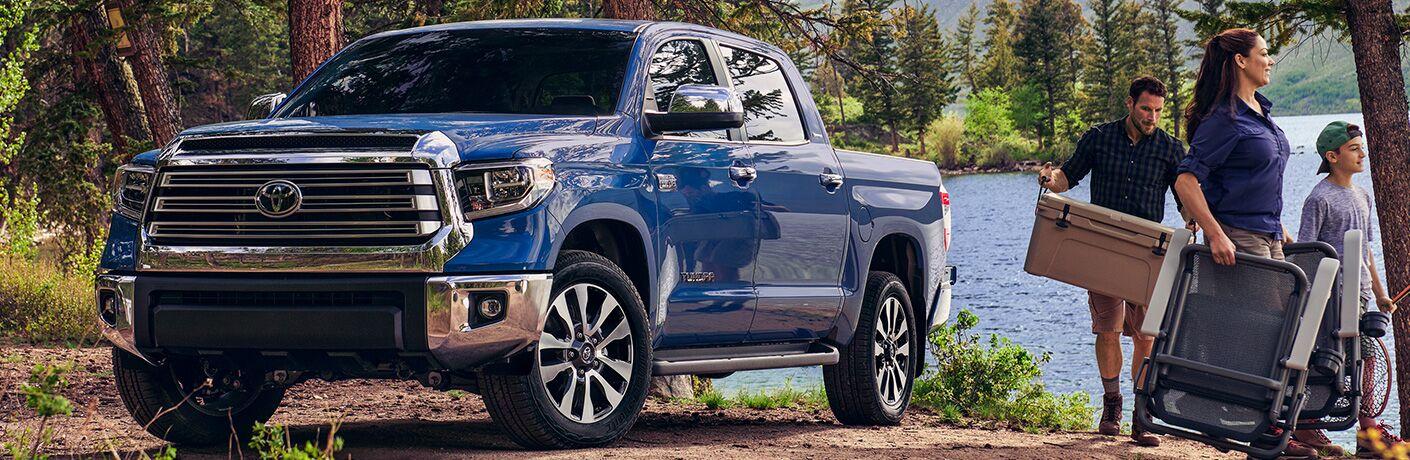 family by blue 2020 Toyota Tundra